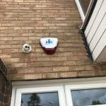 Fire Alarm and CCTV Camera