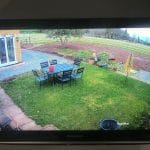 CCTV Footage of Garden