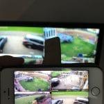 CCTV Footage on Camera
