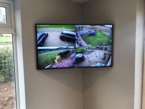 Footage of CCTV Cameras