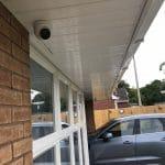 CCTV Camera on Driveway