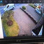 CCTV Footage of Driveway
