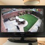 CCTV Footage in Garden