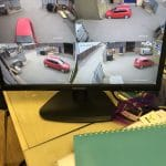 CCTV Footage of Car Park