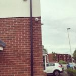 CCTV Camera on Side of Residential Property