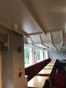 CCTV Footage in Dining Area