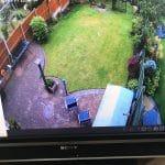 CCTV Footage of Back Garden