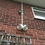 CCTV Cameras and Security Lighting