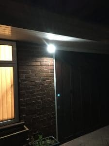 Security Lighting on Residential Property